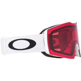 Oakley Fall Line XL Lunettes de ski Homme, matte white/prizm snow rose